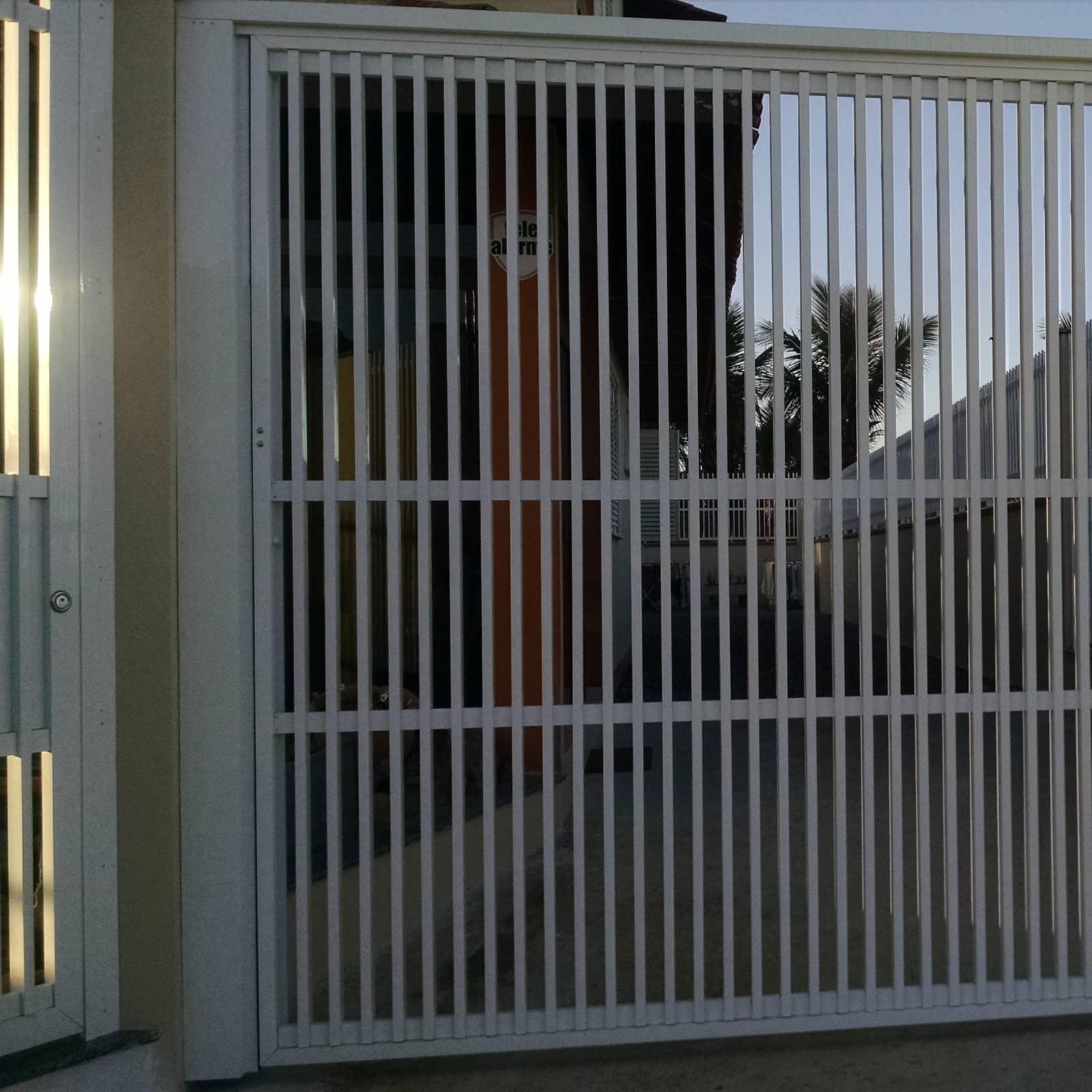 Portões em alumínio